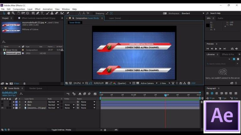 Adobe After Effects Cc 2018 V16 For Mac Window Full Download With