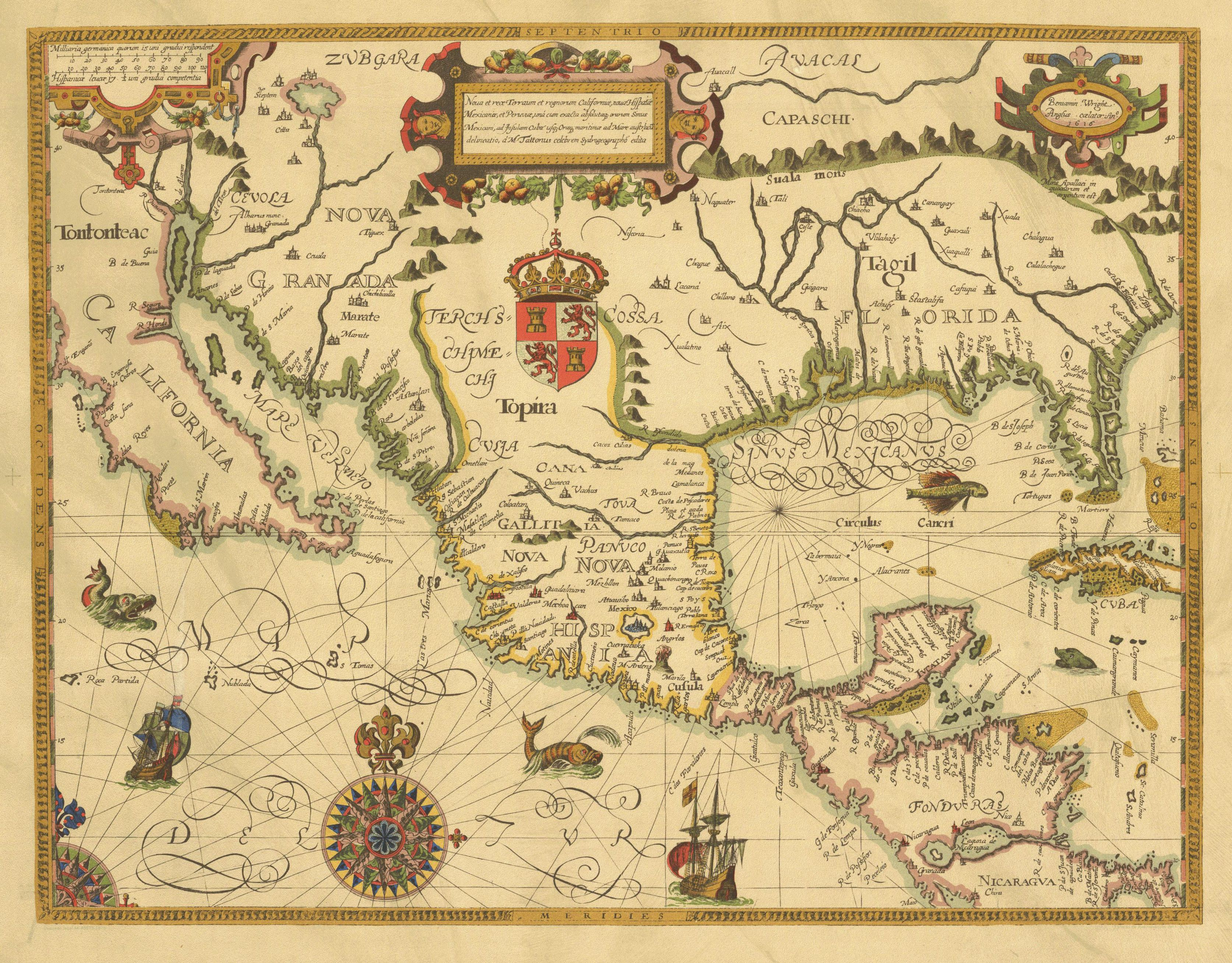 México 1616 Nova Et Rece Teraum Et Regnorum California Http 132 248 9 32 Ipgh Ipgh Mh V1 21 25 Pdf Cartography Old Maps Vintage World Maps