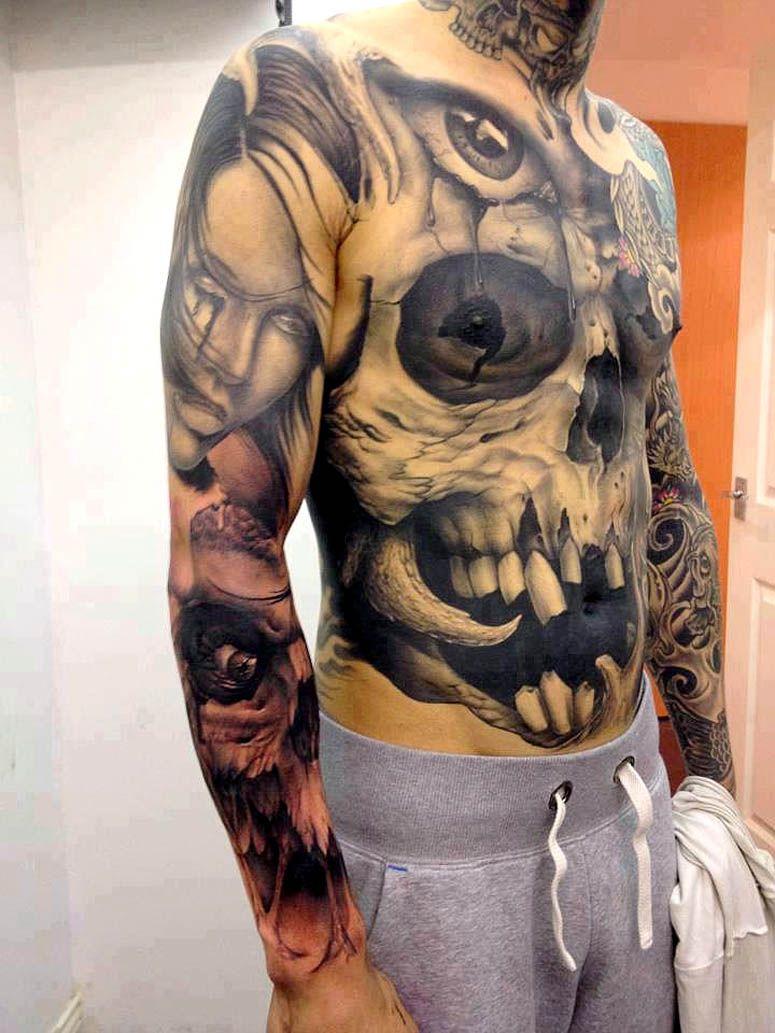 "thievinggenius ""Tattoo done by John Anderton"