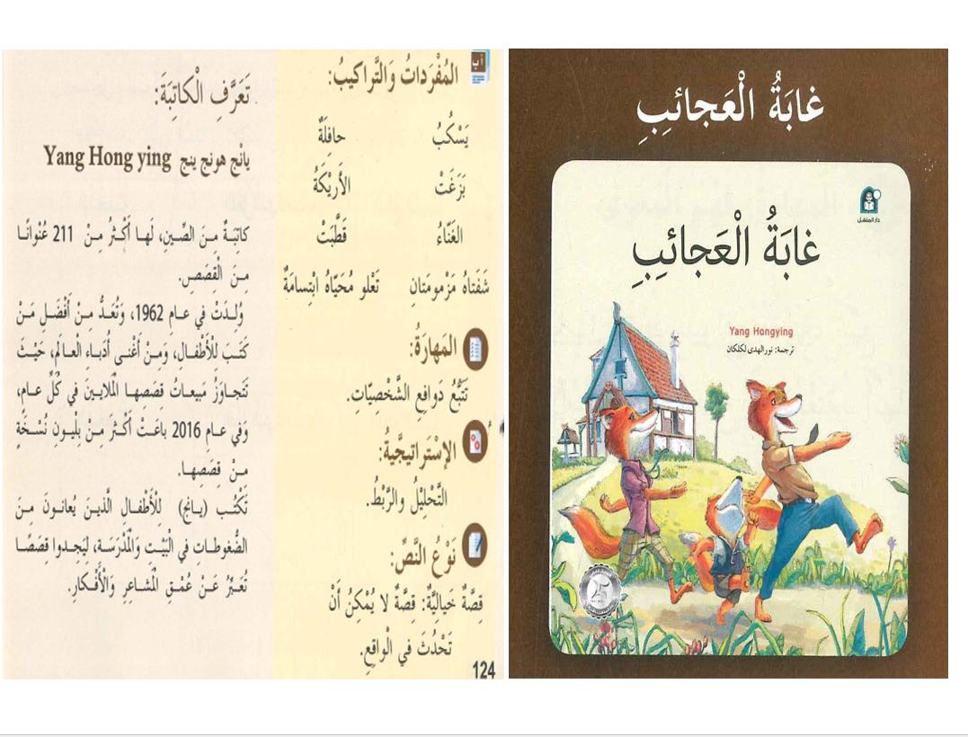 بوربوينت درس قصة غابة العجائب مع الاجابات للصف الثالث مادة اللغة العربية Book Cover Books Cover