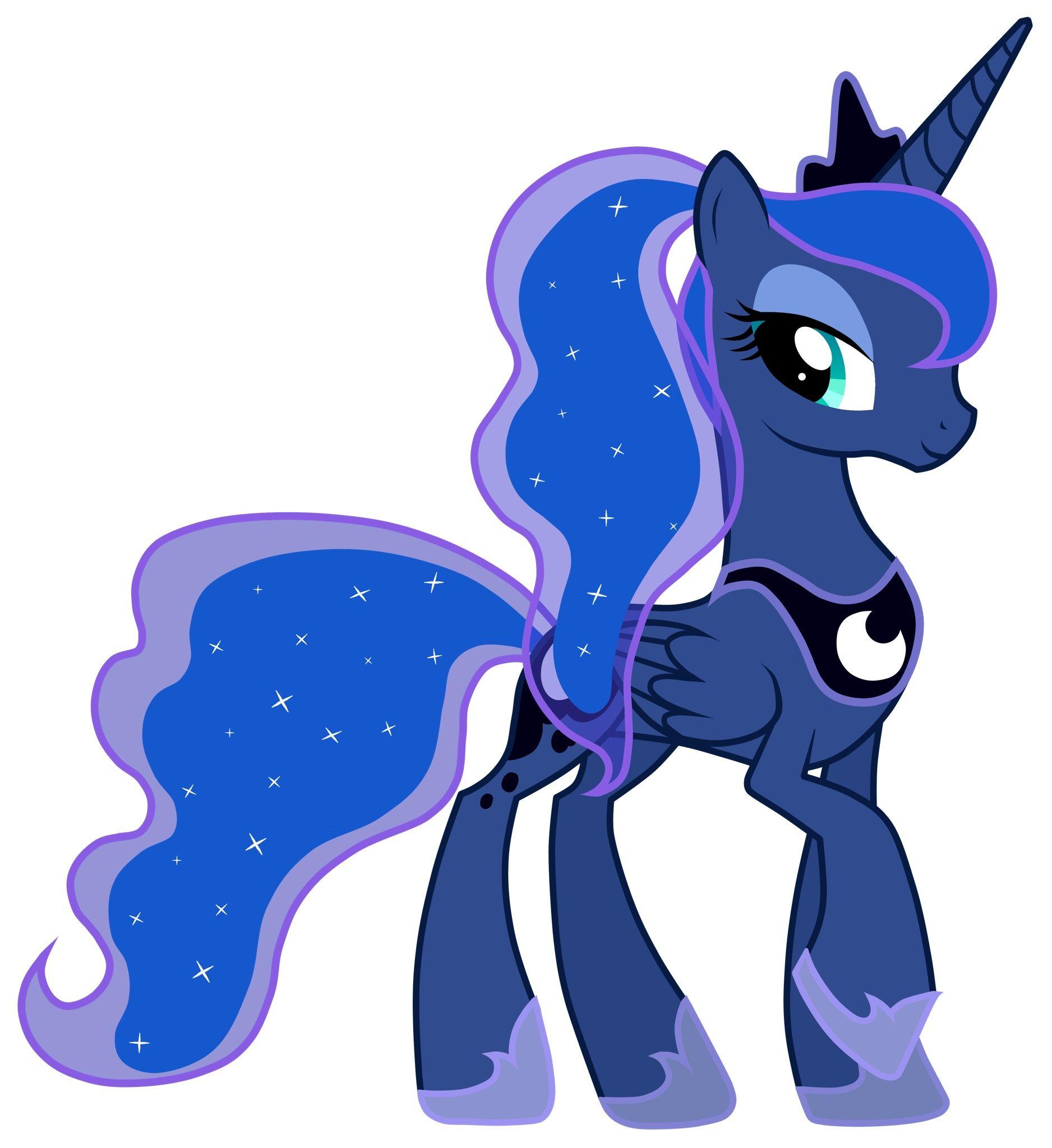 princess luna ponytail