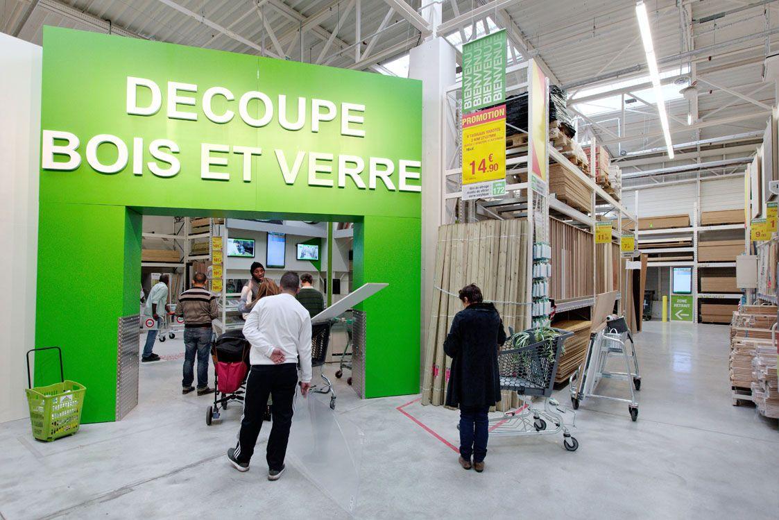 Service De Decoupe Du Bois Decoupe Bois Magasin Leroy Merlin Bois