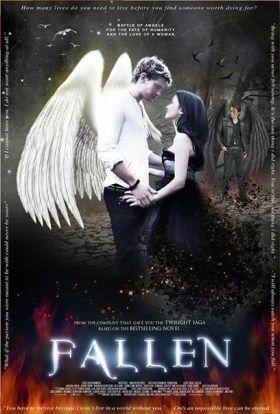 Fallen Movie Trailer Fantasy Books Romantic Fantasy Book Fantasy Book Series