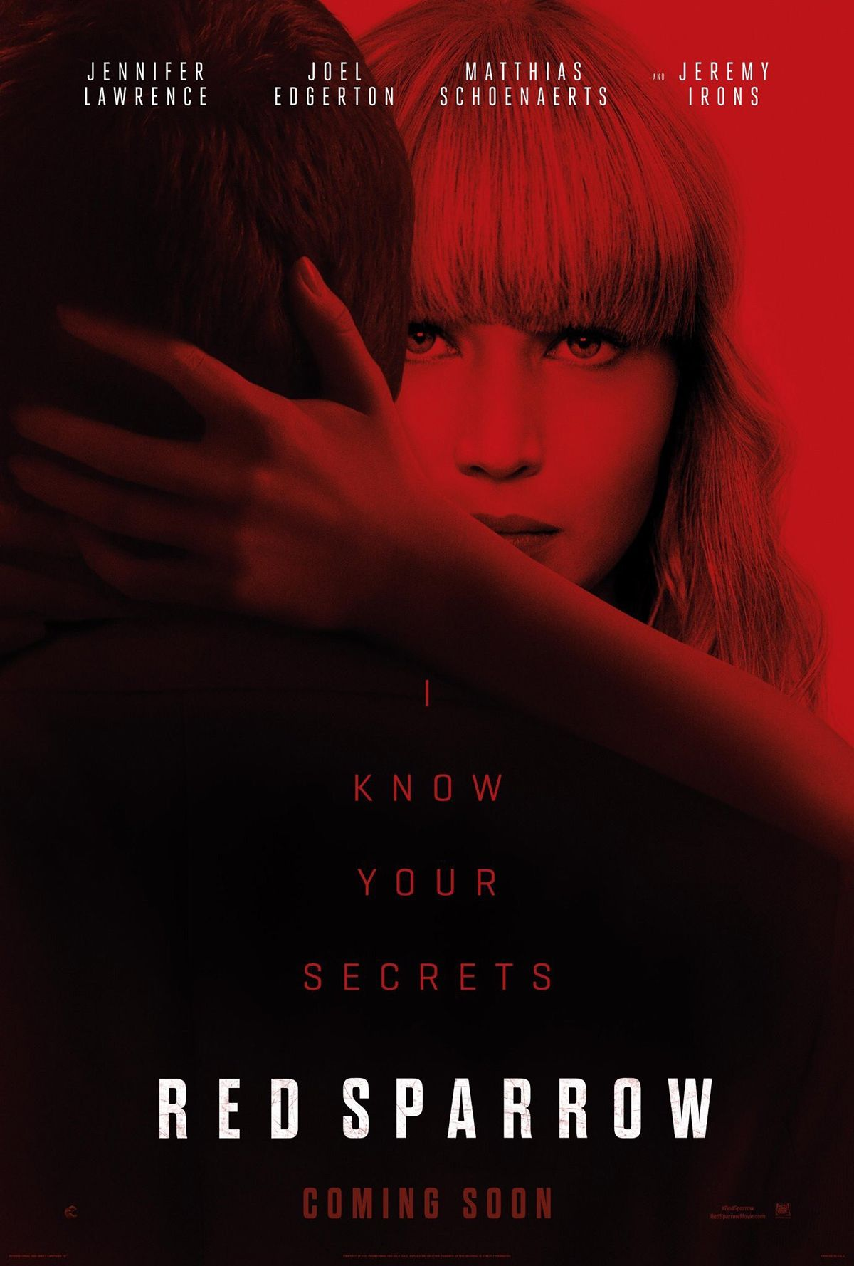 WATCH~1080P!!! Red Sparrow \'2018』 H.D © MOVie. OnLine ...