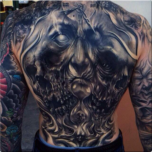 Google Tattoo: Back Pieces For Men - Google Search