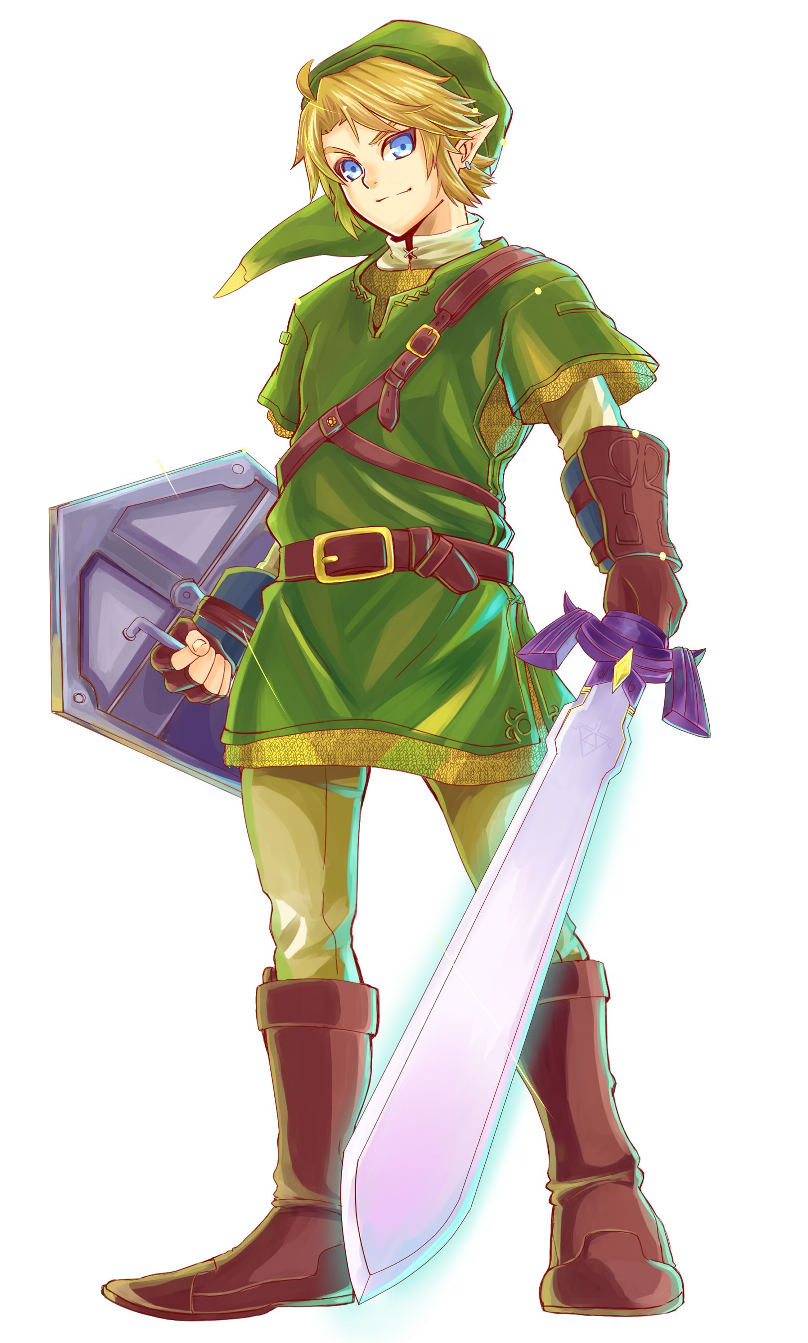 Link Love the sword perspective! Legend of zelda