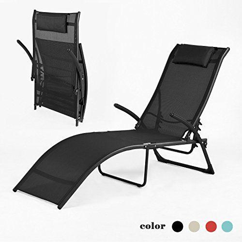Sobuy Relaxliege Sonnenliege Relaxsessel Liegestuhl Gartenstuhl