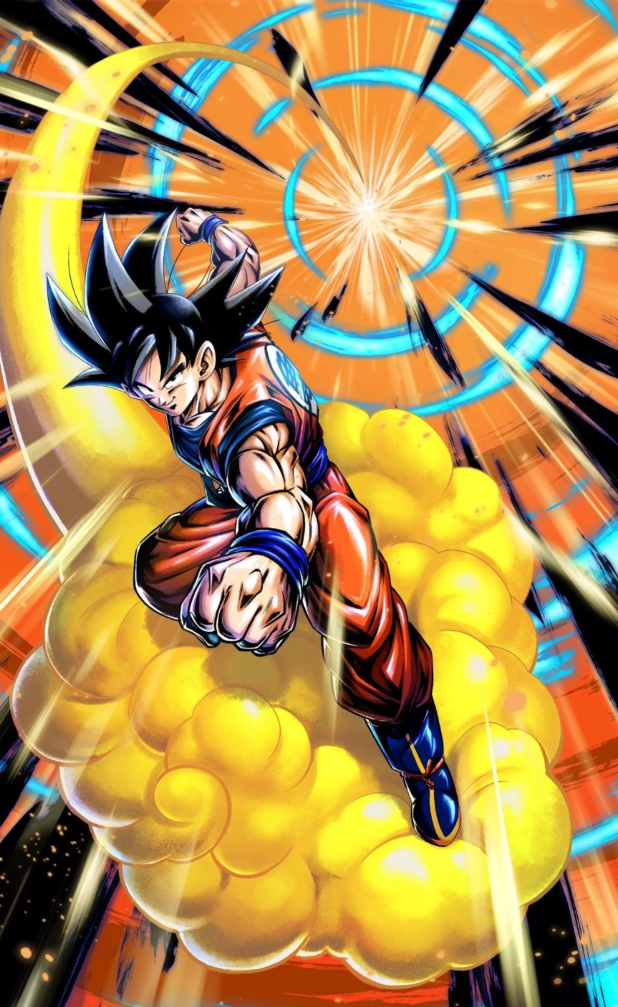 F2p Goku Dbz Kakarot Dragon Ball Legends Anime Dragon Ball Super Dragon Ball Z Dragon Ball Goku