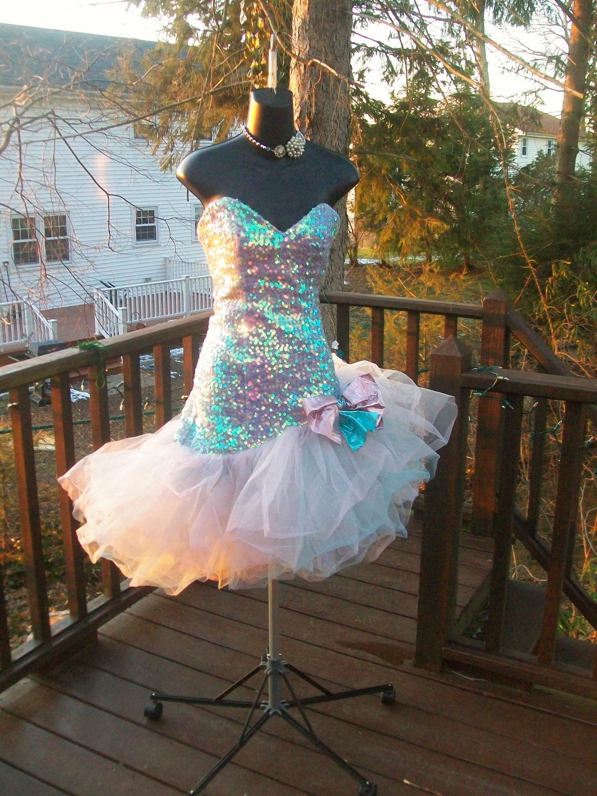 Fabulous 80s Prom dresses this one is sold but come see me http ...