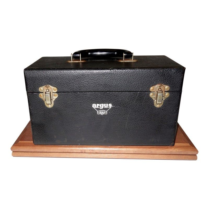 Cinema Equipment Carry Case Circa 1940s Artifact