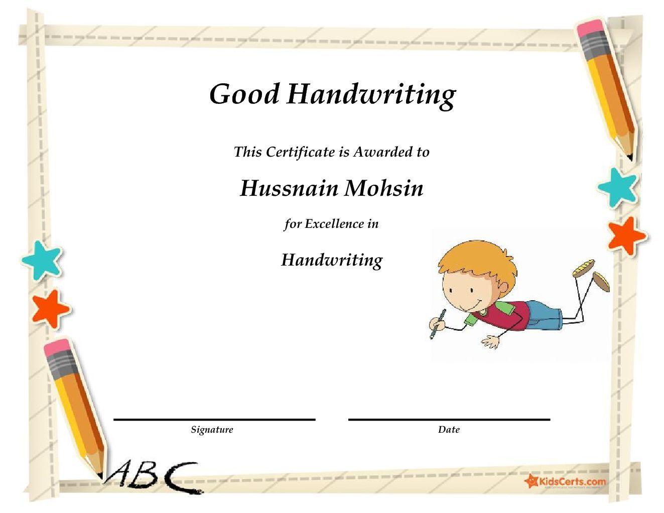 Good Handwriting