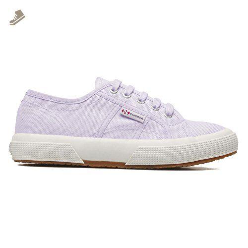 Superga Womens 2750 Cotu Classic Purple Canvas Trainers 7.5 US - Superga  sneakers for women (