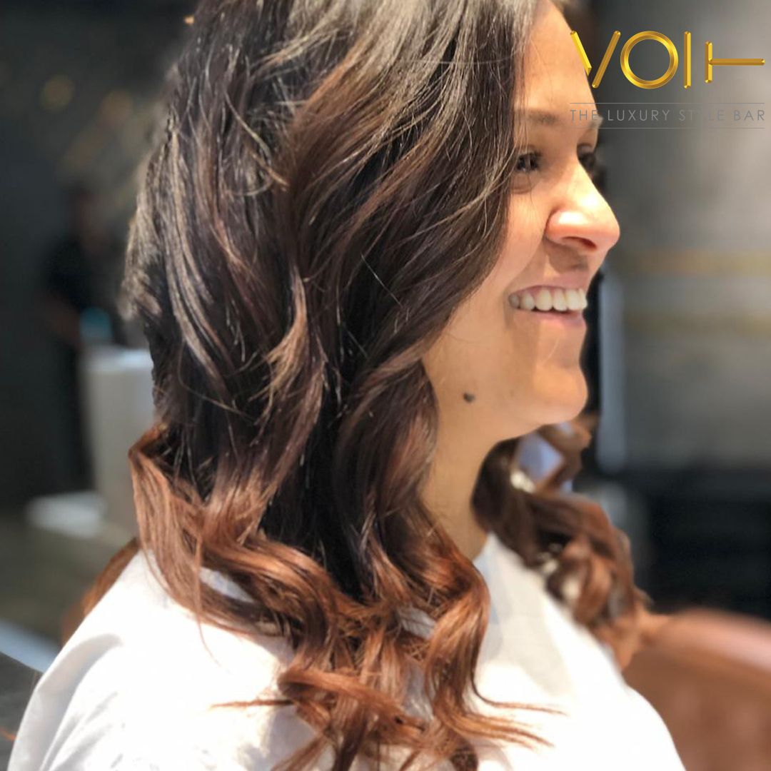 Its time for Volting !!! luxurysalon Hair smoothening