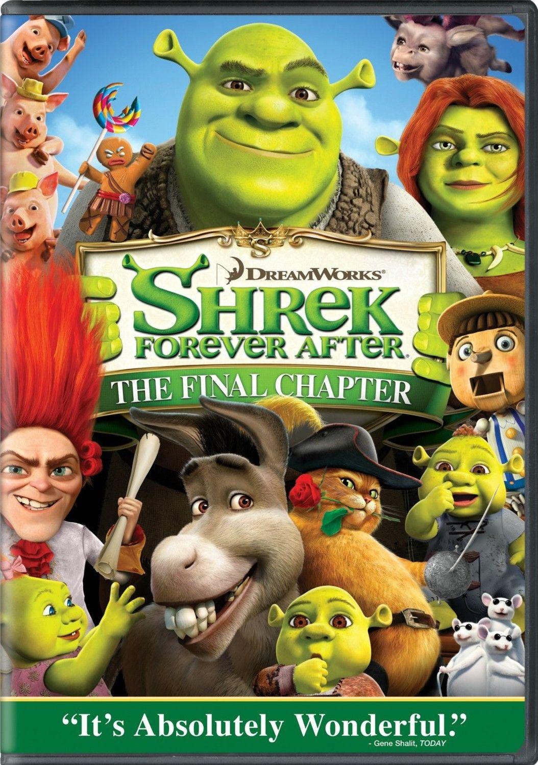 La 4ta 2010 Shrek Fiona Y Shrek Shrek Felices Para Siempre