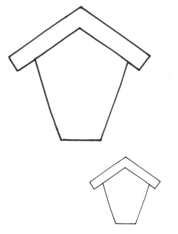 8 Bird House Applique Patterns
