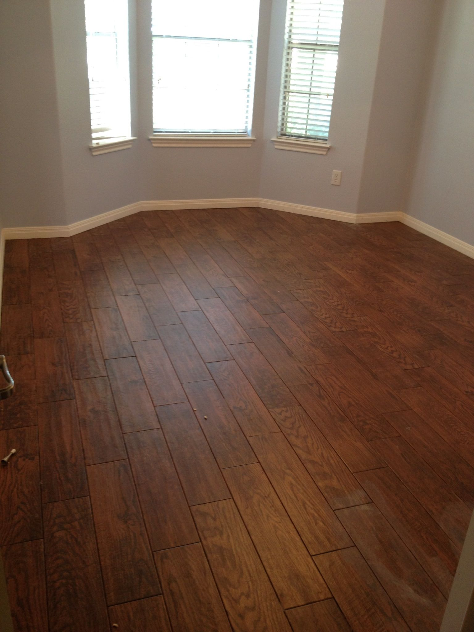 Kitchen Flooring Advice Tile That Looks Like Wood Love The Durability Home Flooding