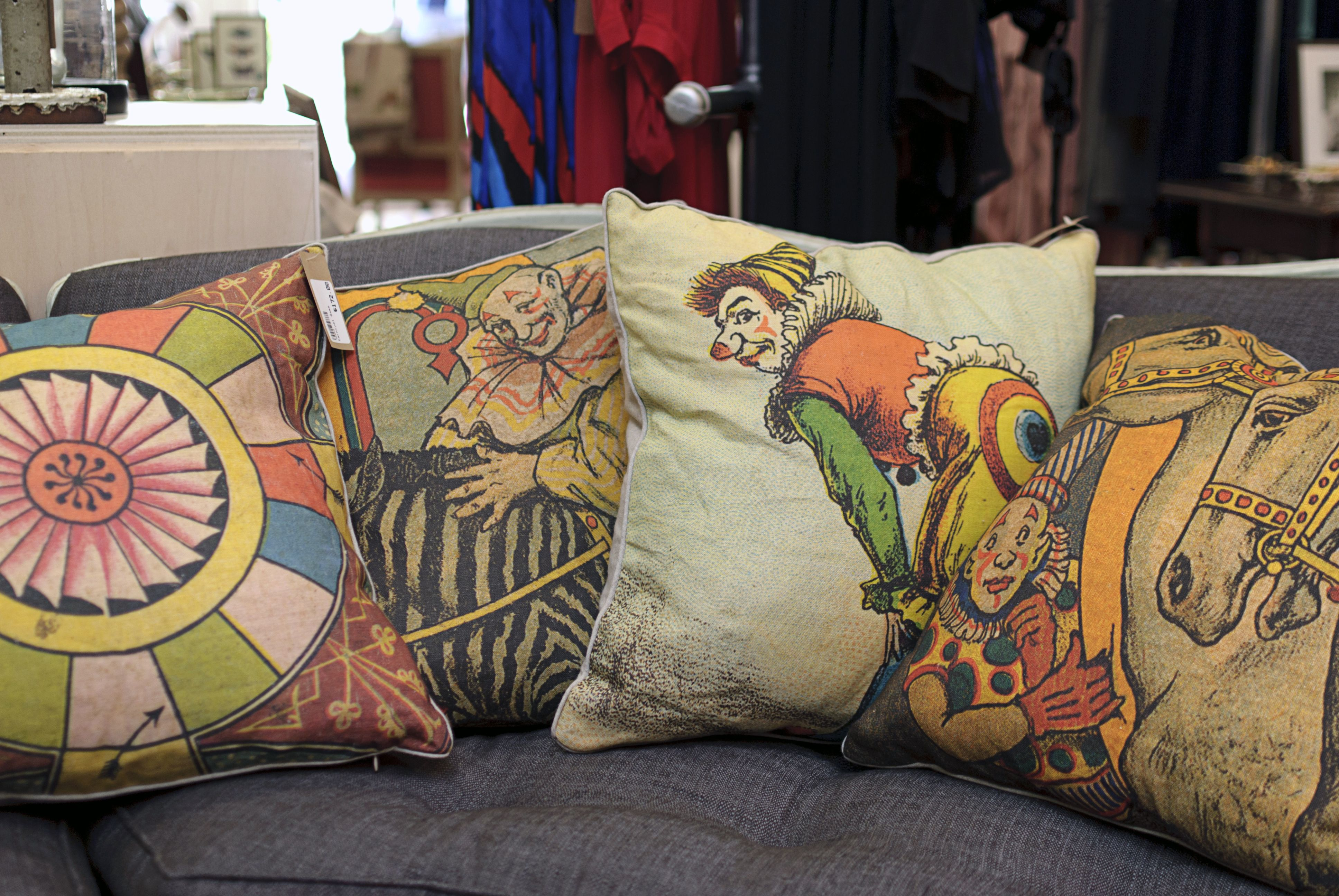 Love These Hand Silk Screen Linen Pillows From Design Legacy By