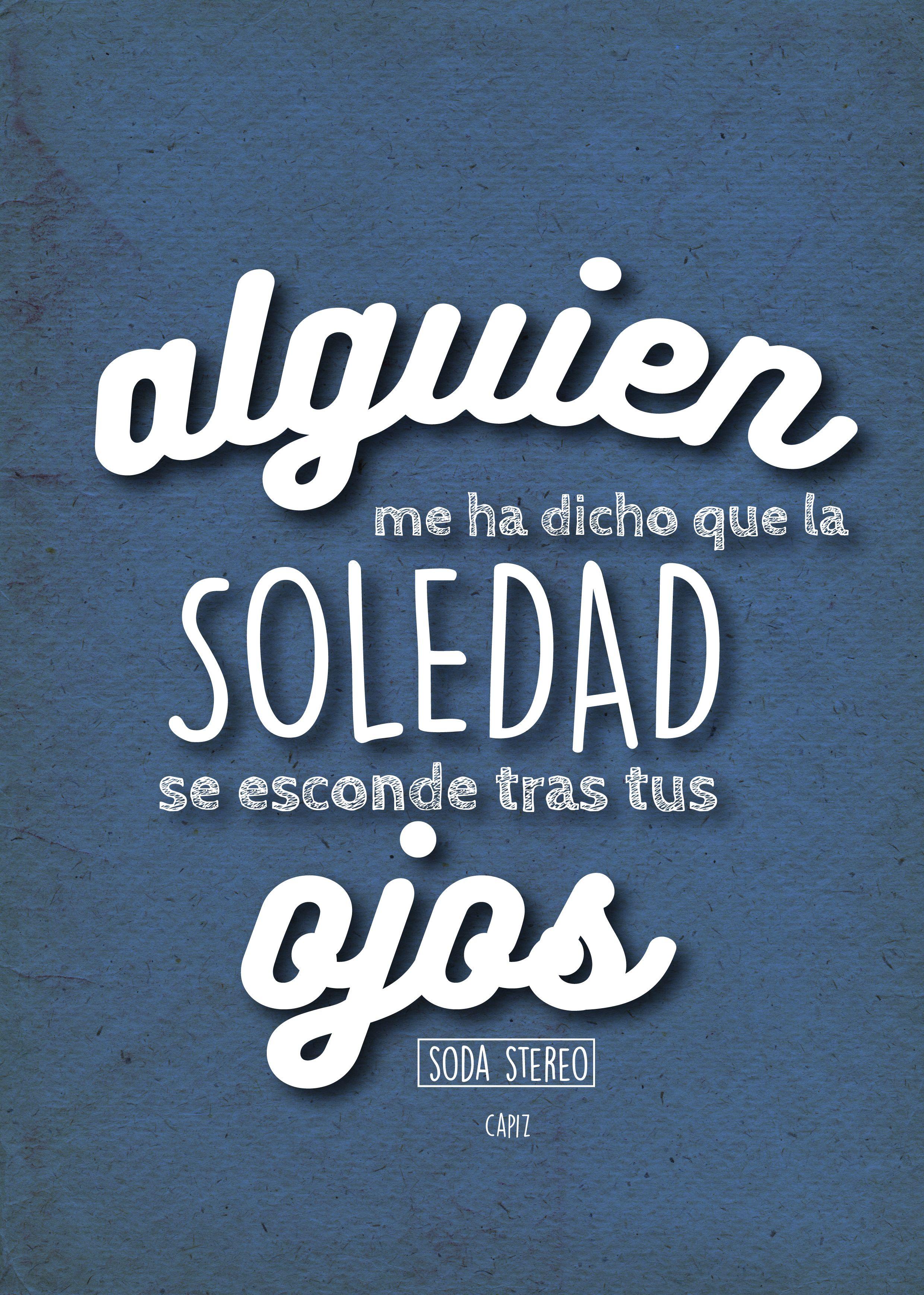 Soda Stereo Frases De Rock Soda Estereo Letras Y Frases