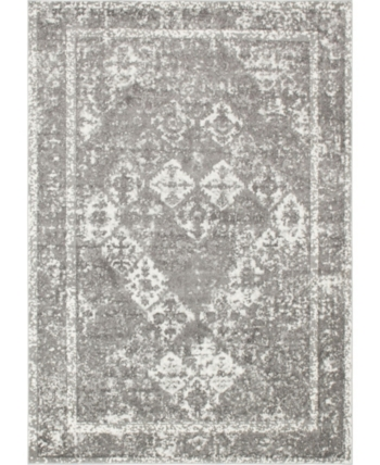Bridgeport Home Mishti Mis2 Gray 9 X 12 Area Rug Reviews Rugs Macy S Area Rugs Rugs Bars For Home