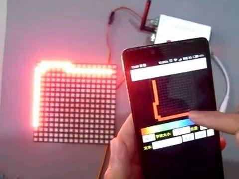 Programmable Spi Wifi Led Controller Ws2812b Matrix