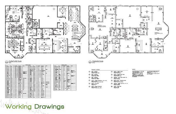 Interior Finish Schedule Template, Interior Design Furniture Templates