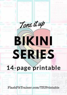 Tone It Up Printable - FlashFit Trainer Freelance Fitness Copywriter, Personal Trainer  Tone It Up B...