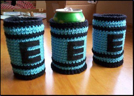 Mega Man E Tank Crochet Can Cozy Pattern Mega Man Crochet And