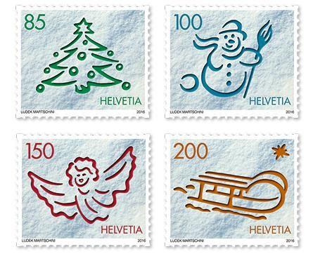 Christmas stamps – Switzerland