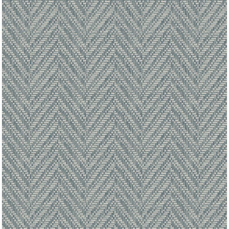 Ziggity 33 L X 20 5 W Wallpaper Roll Herringbone Wallpaper Grasscloth Wallpaper Brewster Wallpaper