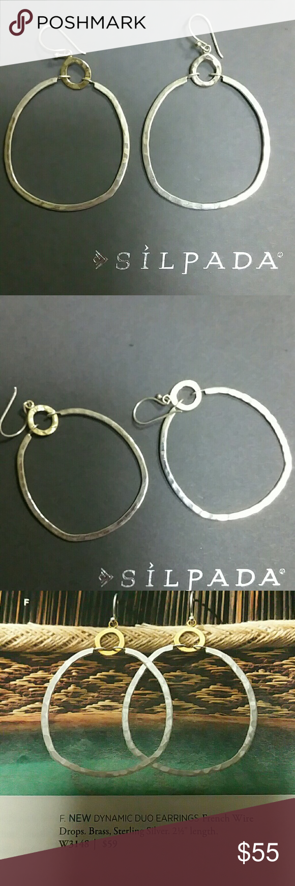 Sold Jewelry W3148 And Drop Earrings Silpada zrZax7z