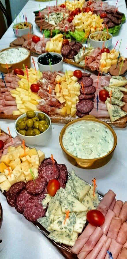 D tabla de fiambres cheese trays pinterest ap ro - Idee de sandwich froid ...
