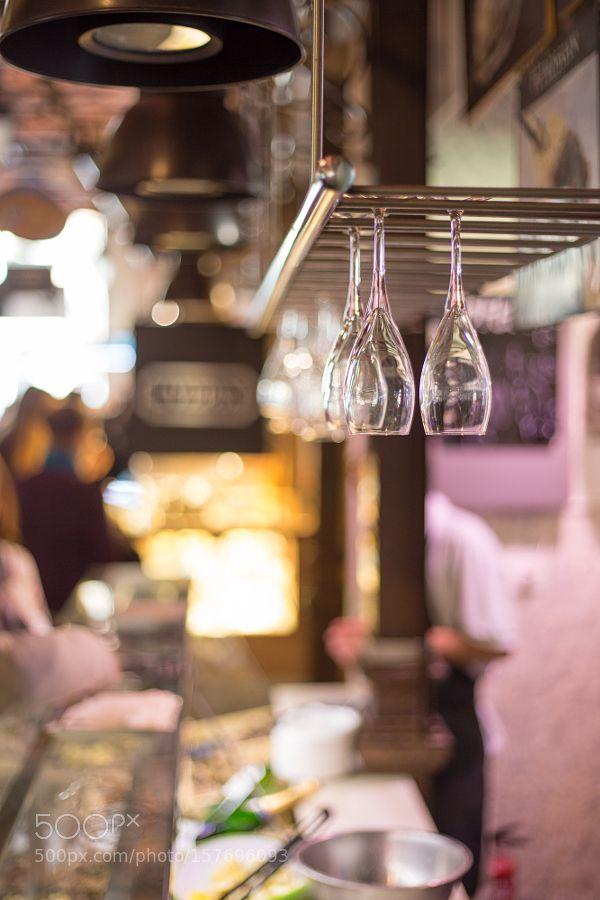 Glasses Mercado de San Miguel Madrid by jhluebben