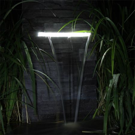 Garten Wasserfall selber bauen Funksjoner med vann Pinterest
