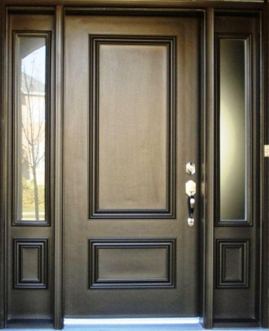 Desain Pintu Rumah 2 Daun Cek Bahan Bangunan Pintu rumah 2 daun