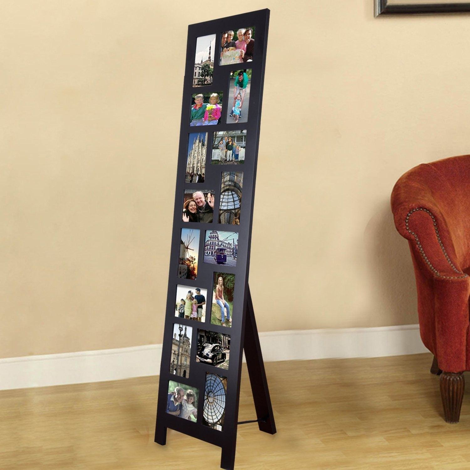 Guyer 16 Opening Wood Floor-Standing Easel Picture Frame   Products