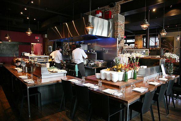 Origin Restaurant Taste The Journey Open Kitchen Restaurant Commercial Kitchen Design Restaurant Decor
