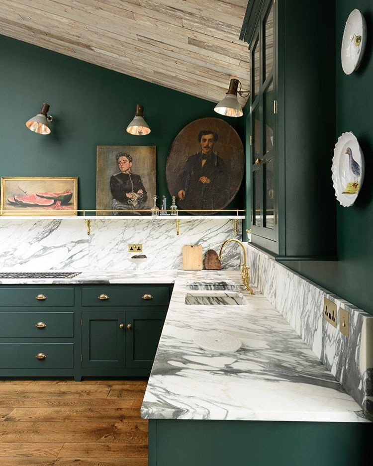 The balance of eccentricity and style is spot on in our Peckham Rye Kitchen. #deVOLKitchens