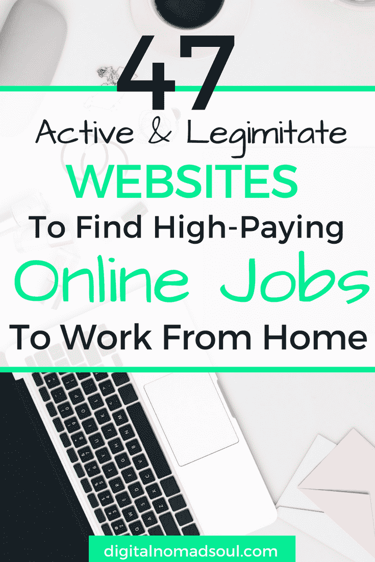 47 Best Remote Job Sites To Find Your Dream Job Digitalnomadsoul Working Remotely Is Easier Now Than Ever Bef Remote Jobs Freelance Writing Jobs Writing Jobs
