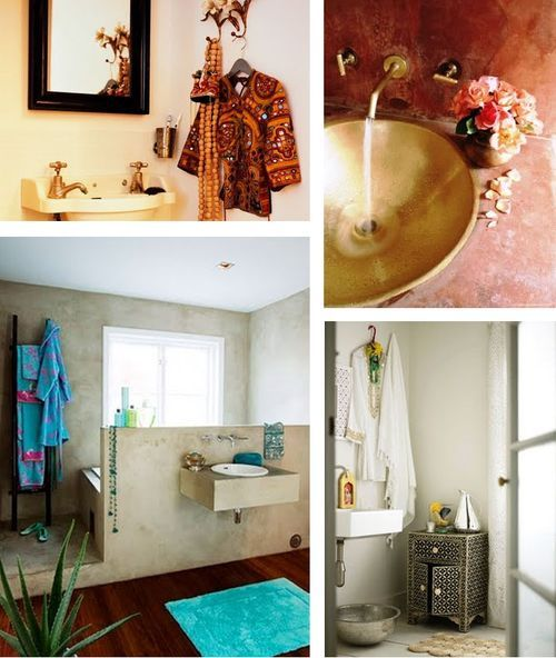 Bath Inspiration from Indian Summer
