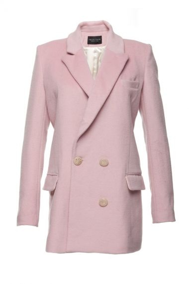 Light Pink Coat - FrontRowShop