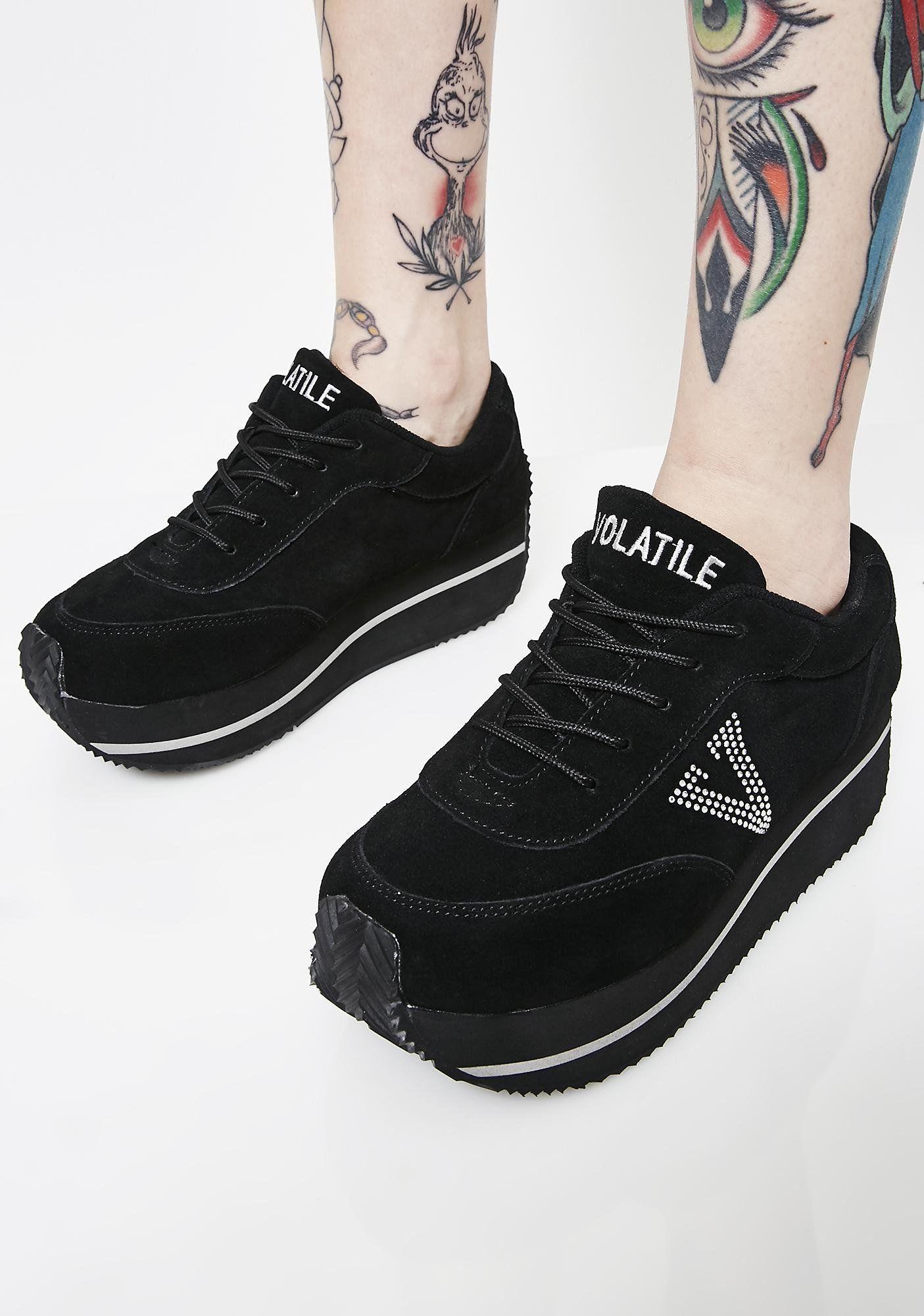 Midnight Expulsion Platform Sneakers