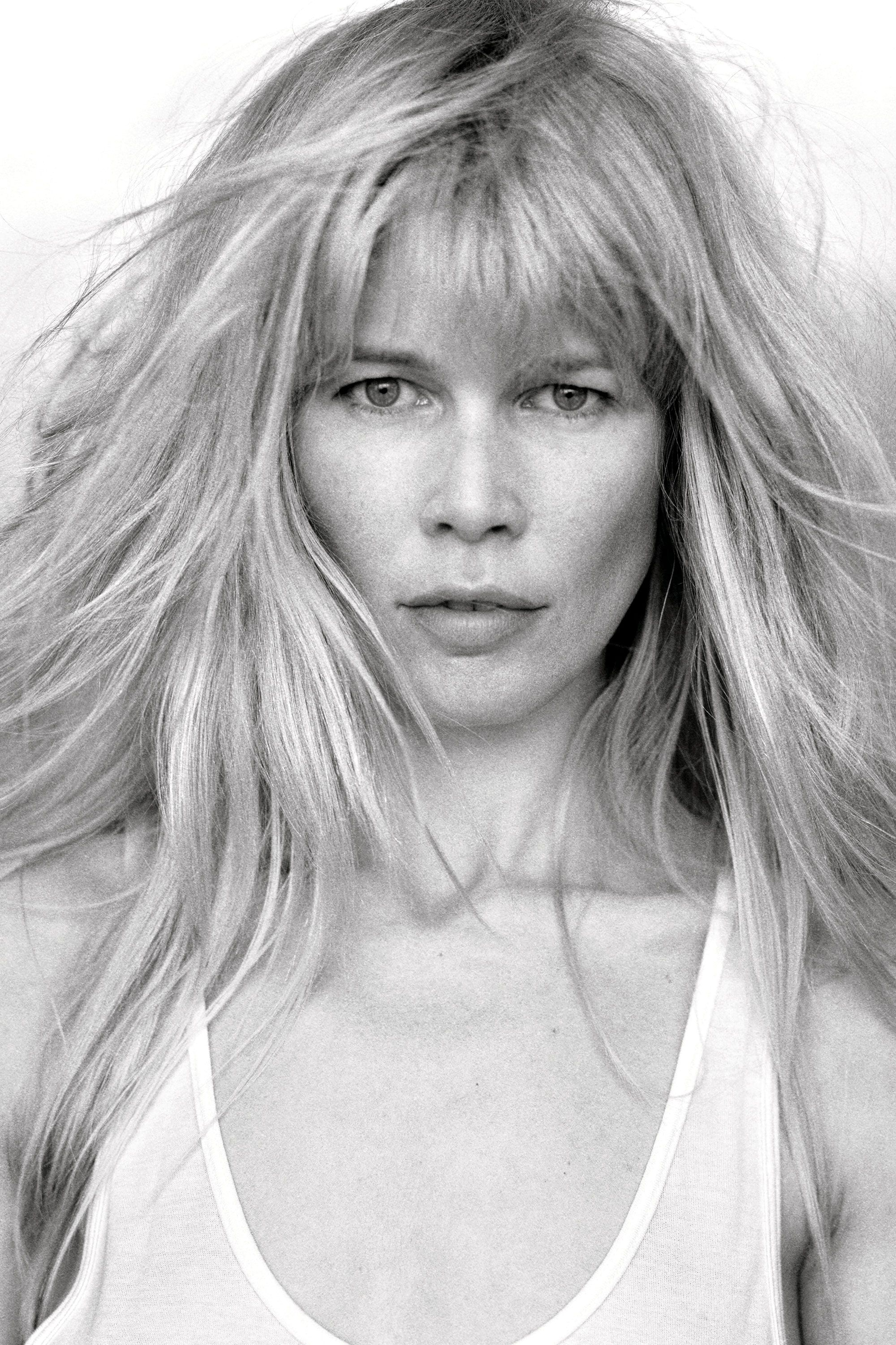 Supernatural Supermodels Without Makeup Claudia Schiffer Peter Lindbergh Models Without Makeup