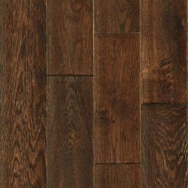 Mohawk saunders barrel oak solid hardwood flooring dark for Solid wood flooring deals