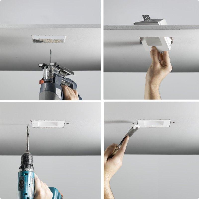 Invisibili Adjustable 4 1 4 5 6w D8 6230 Zaneen Contemporary Recessed Lighting Led Recessed Lighting Interior Lighting