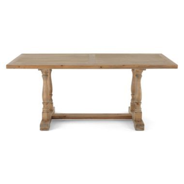 """trestle 72"""" reclaimed wood rectangular dining table found at"""