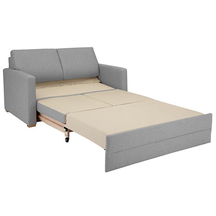 John Lewis Siesta Small Sofa Bed Senna French Grey Online At Johnlewis