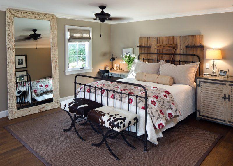 18++ Idee deco chambre avec lit en fer forge noir ideas in 2021