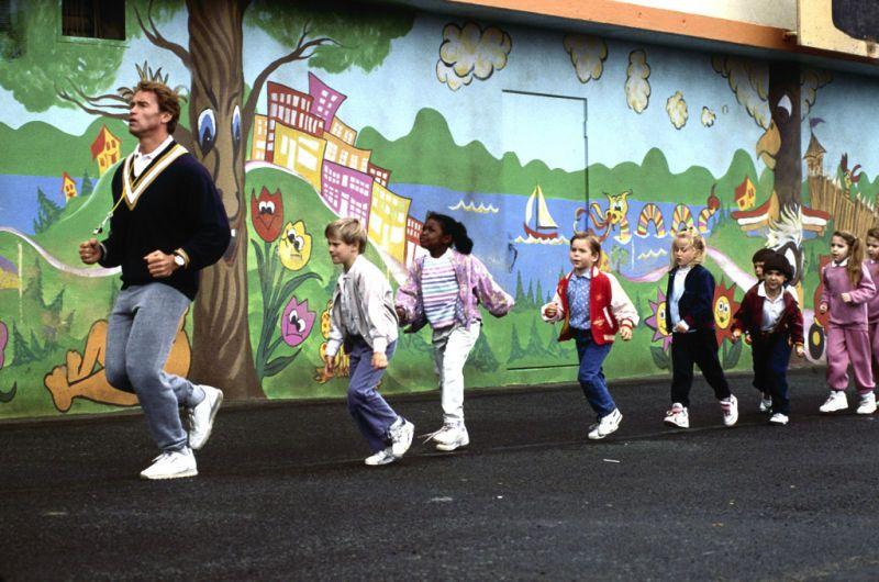 Kindergarten Cop - Arnold Schwarzenegger #kindergartencop #arnoldschwarzenegger #1990 #90smovies