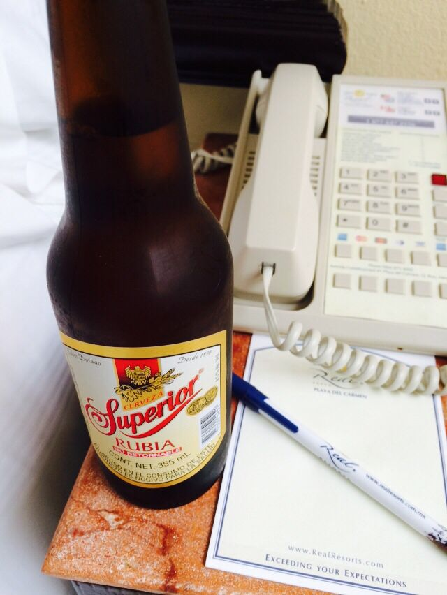 La rubia, cerveza mexicana