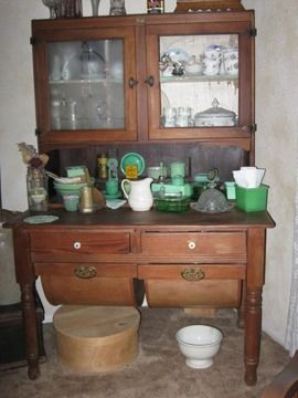 Kitchen Bakers Cabinets $350 Antique Bakers Cabinet Possum Belly Kitchen    Painted ... On Kitchen Bookcase, ...